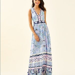 Lilly Pulitzer NWT!  McKinley Maxi Dress Perfect!